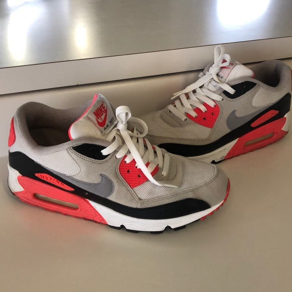 Details about Nike Air Max 90 Infrared 2010 Size 12 325018 107